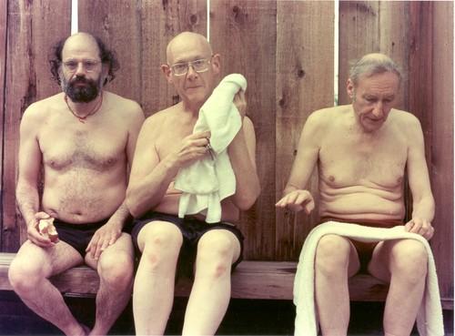 Allen Ginsburg, Philip Whalen & William S. Burroughs
