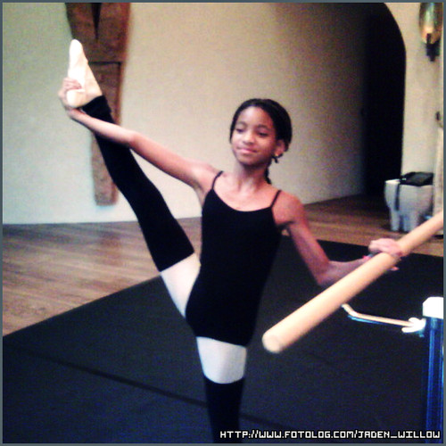 Willow Smith 바탕화면 possibly with a leotard, a gymnast, and a balance beam titled Willow:)