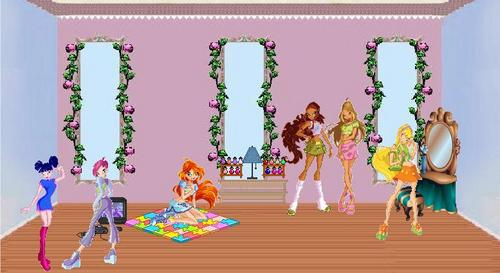 Winx in house