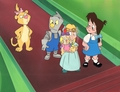 Wizard Of Oz Kids Cartoon Production Cel - the-wizard-of-oz photo