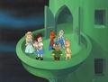 Wizard Of Oz Kids Cartoon Production Cel