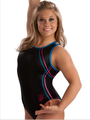 Zig Zag Trim Shawn Johnson Tank Leotard