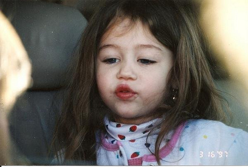 baby Miley!
