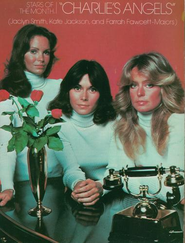 Charlie's Angels 1976 wallpaper possibly with a sewing machine and a turntable entitled charlie's angels