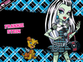 cute frankie stien - monster-high wallpaper