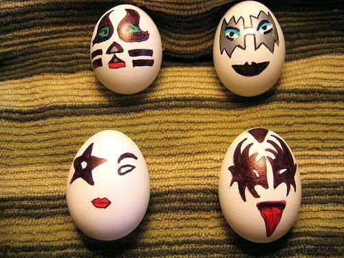 Funny Happy Easter Eggs