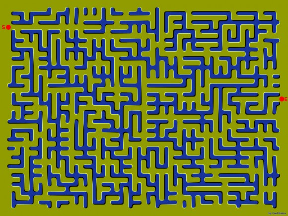 Puzzles and Brain Teasers images floating maze wallpaper ...