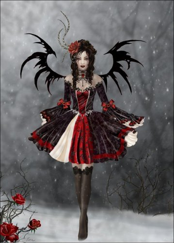 goth princess - gothic Photo