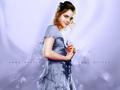 hermoine yule ball dress blue - hermione-granger fan art