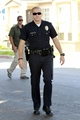 jake gyllenhaal at the set of END OF WATCH
