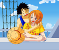 love on the ship - luffyxnami photo