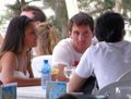 messi and antonella in ibiza - lionel-andres-messi photo