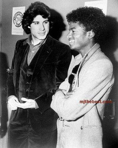 michael jackson with john travolta
