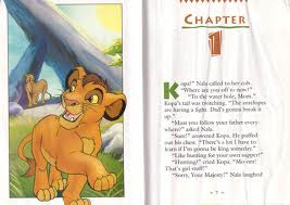 my lion king kopa book