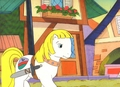my little poney original production cel