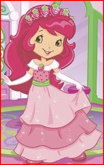 Strawberry Shortcake wallpaper with anime entitled princess