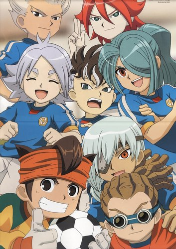say cheese,inazuma japan!!!
