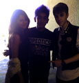 selena and justin in teen choice awards