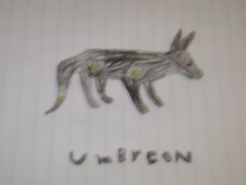 umbreon drawing