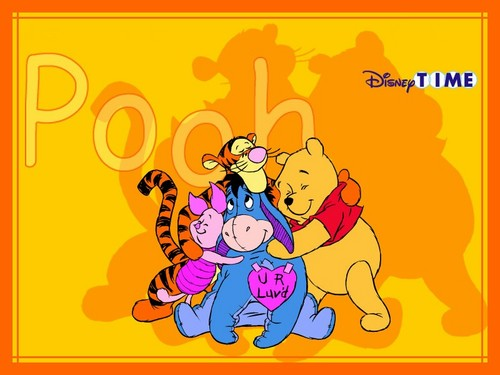 Pu der Bär Hintergrund containing Anime called winnie the pooh with Friends
