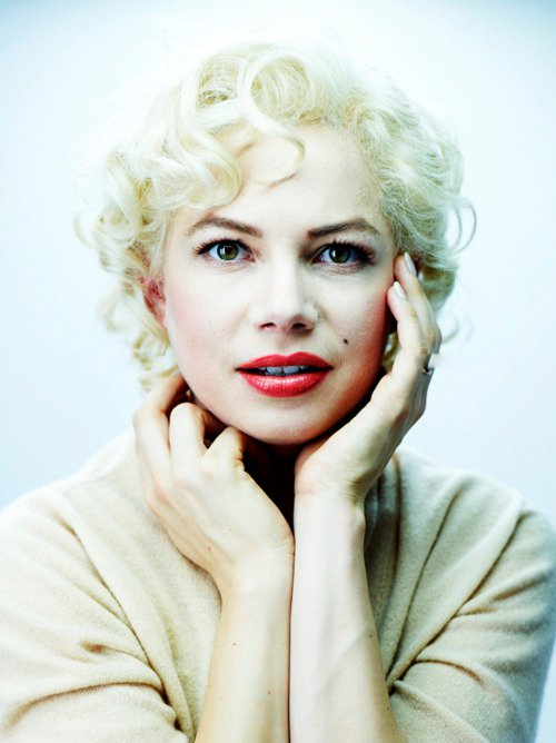 Michelle Williams wallpaper probably containing a portrait called Michelle  Williams as Marilyn Monroe in