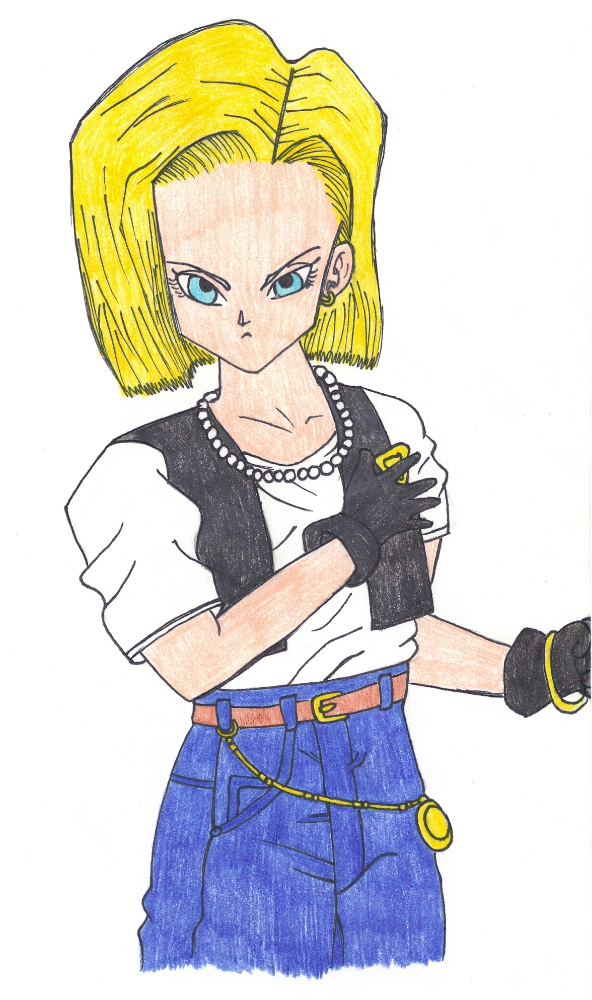 Dragon ball android 18 images hot pictures space hot - Dragon ball zc 18 ...