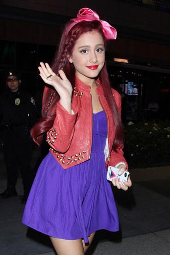 Ariana Grande at Nokia Theater