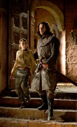 Arya Stark and Jory Cassel