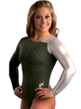 Basic Asymmetric Comp Leotard - shawn-johnson photo