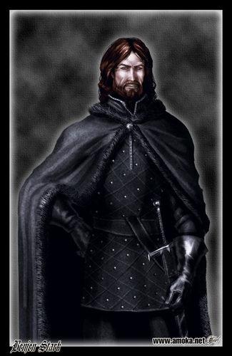 Benjen Stark by Amoka