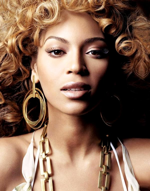 Beyoncé at the age 18