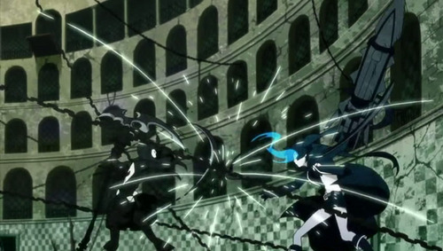 Black Rock Shooter Vs Dead Master