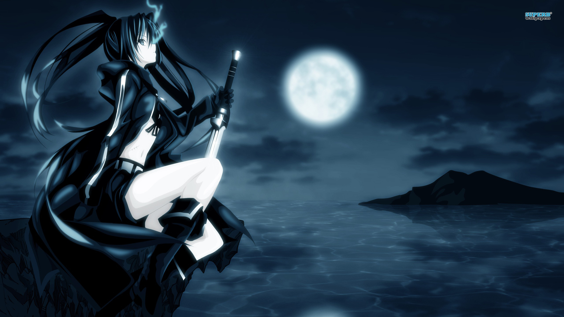 katzneko! images black☆rock shooter hd wallpaper and background