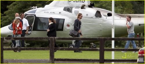 Brad Pitt Returns Home from the 'War'