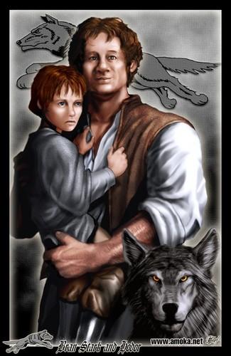 Bran Stark por Amoka