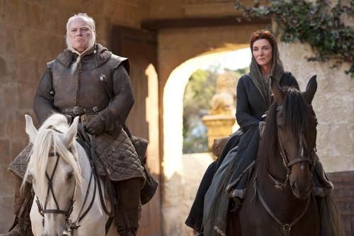 Catelyn Stark and Rodrik Cassel