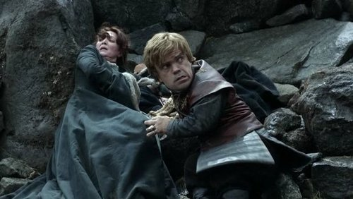 Catelyn Stark and Tyrion Lannister
