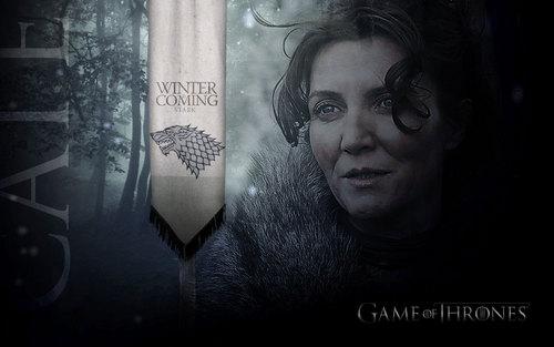 Catelyn Stark kertas dinding