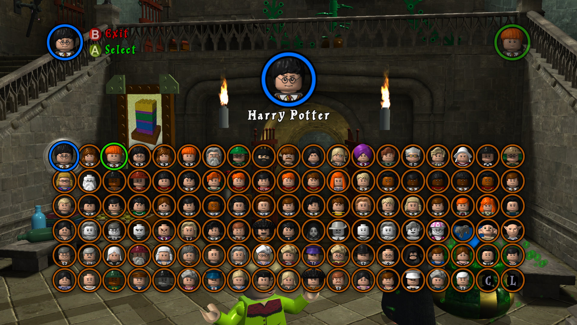 lego harry potter years 1 4 the
