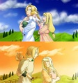 Family Walk - edward-elric-and-winry-rockbell fan art
