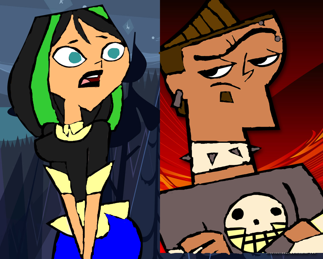 Total drama island duncan and courtney