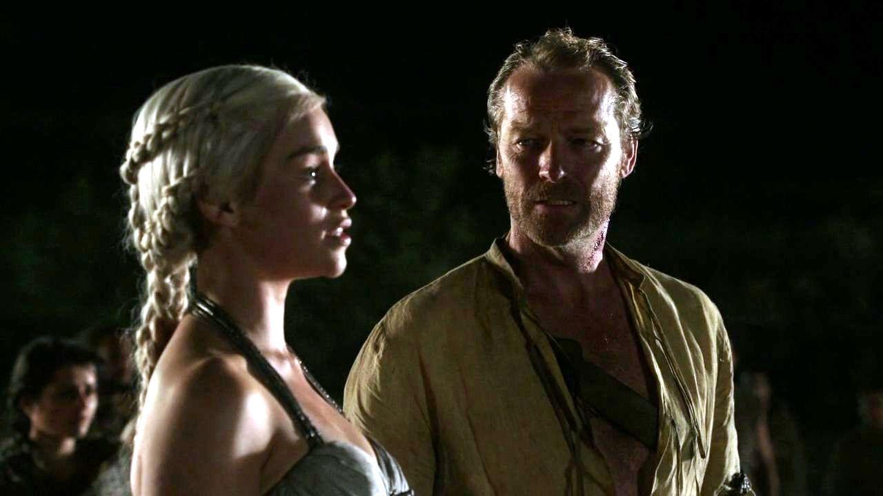 House Targaryen images Daenerys Targaryen and Jorah Mormont HD ...
