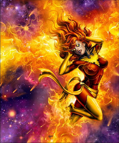Dark Phoenix - x-men Fan Art