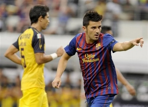 David vila, villa (FC Barcelona - Club America)