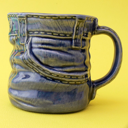 Denim coffee mug - coffee Fan Art