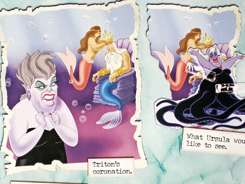 Disney Villains: The top, boven Secret Files - Ursula