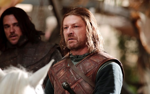 Eddard Stark and Jory Cassel