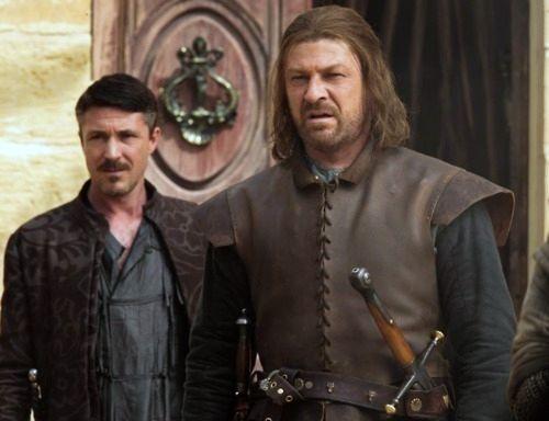 Eddard Stark and Petyr Baelish