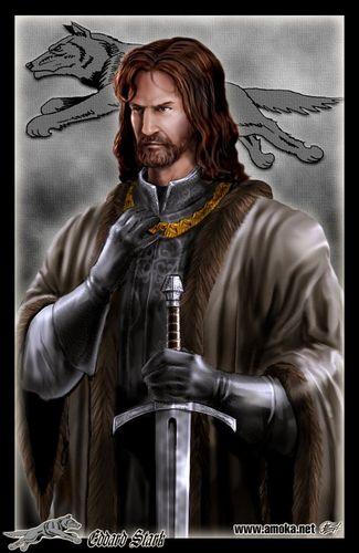 Eddard Stark por Amoka
