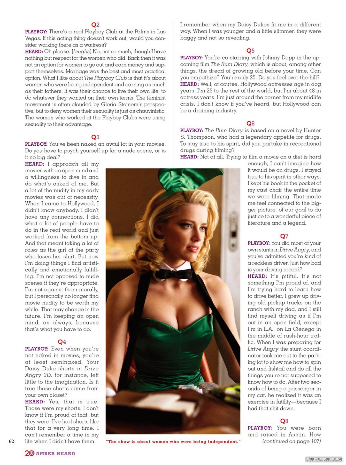 Editorial: playboy - September Issue
